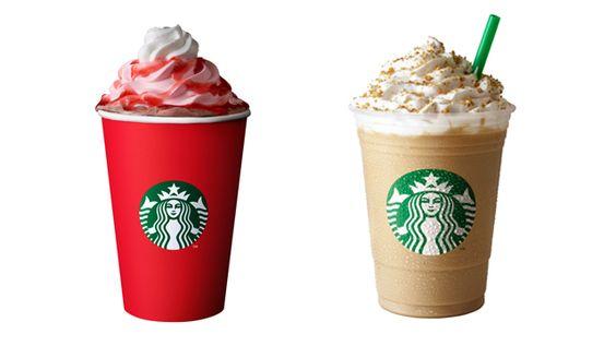 Starbucks Christmas Drinks