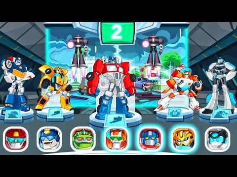 Transformers Rescue Bots Disaster Dash Hero Run Rescue Bots Special Missions By Budge 4 Youtube