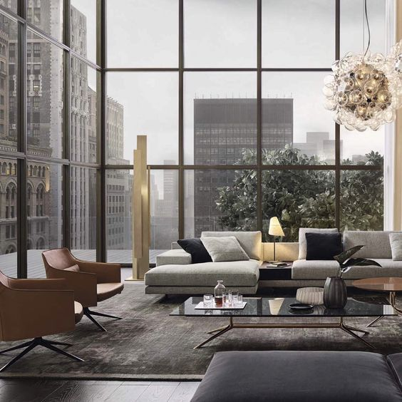 Modern Living Room Inspiring Residential Interior Design Interior Design Residential Interior