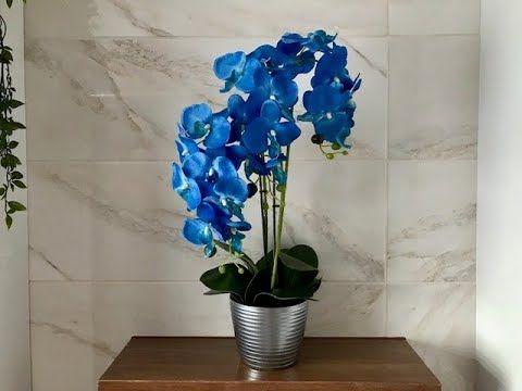 Jak Samodzielnie Zrobic Sztucznego Storczyka W Doniczce Sztuczny Storczyk Jak Zywy Youtube Orchid Flower Arrangements Orchid Flower Flower Arrangements