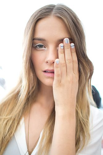 The BEST nail art looks from Fashion Week (Photo by Ryan Koopmans)