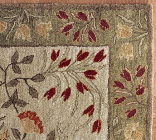 Brand New Pottery Barn Persian Adeline Multi Style Handmade Woolen Area Rugs  Carpet