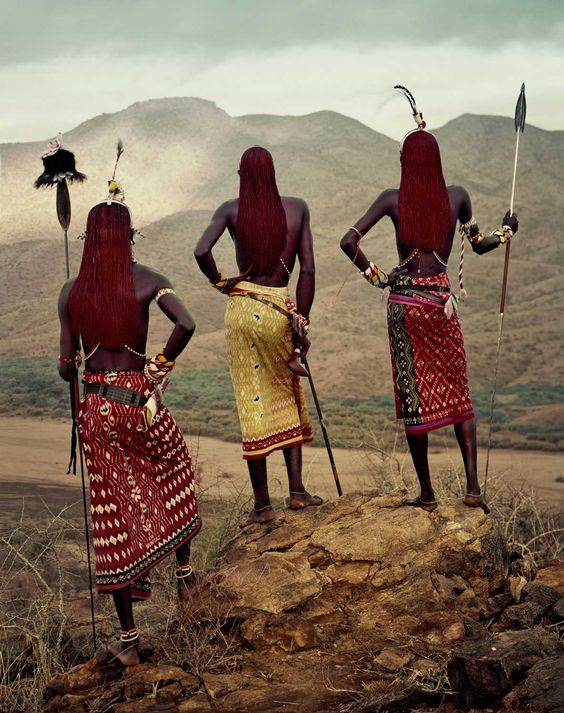 Tribe - Community - Strength - Protectors - Earthy - J Samburu Tribe, Kenya. Photo by Jimmy Nelson | Yellowtrace: