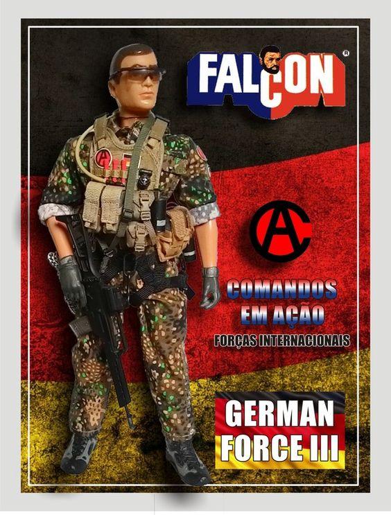 Falcon - Comandos em Ação - Forças Internacionais – German Force III