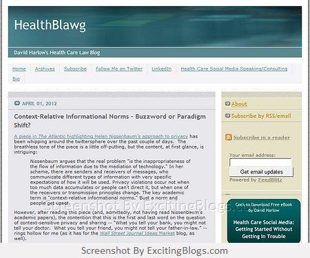 HealthBlawg - Click to visit blog:  http://1.33x.us/Ix60ov