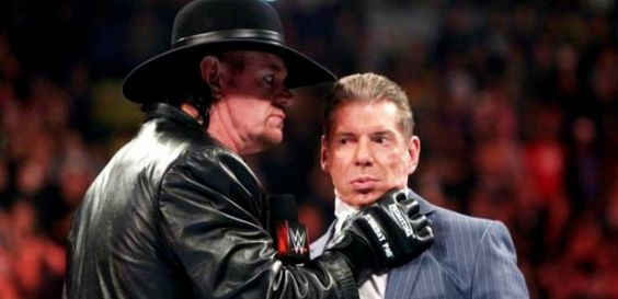 Did The Undertaker have a fallout with Vince McMahon?