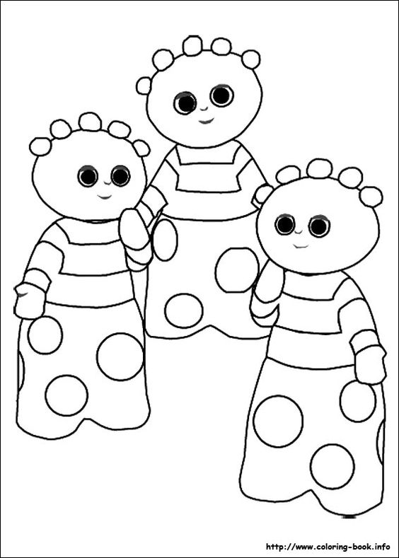 pontipines coloring pages - photo#22