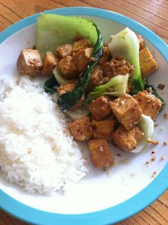 : Sweet Ginger Tofu with Pak Choi | TASTECSTASY!! | Pinterest | Tofu ...