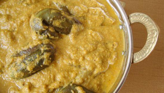 Vankaya Nuvvula Masala ~ Brinjals in Sesame Sauce