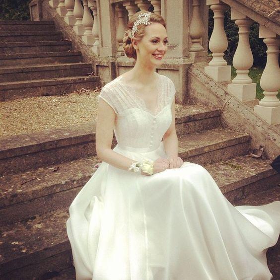 Casamento: vestidos retrô e romântico para noivas | Ideal Lembranças