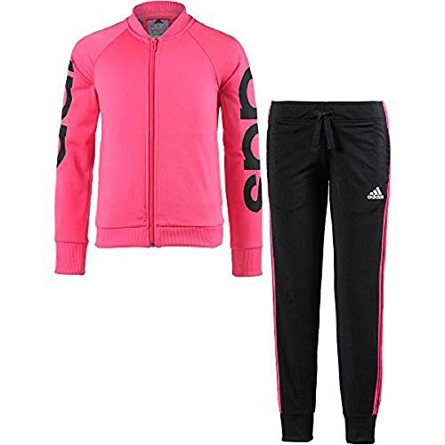 Chispa  chispear Predicar Iniciativa  adidas Kids Girls Track Suit Training PES Running Pants School Gym New |  Tracksuit, Sport outfits, Adidas kids girls