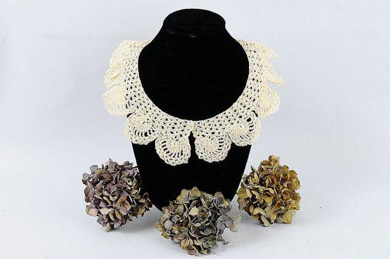 Shell Crochet Collar