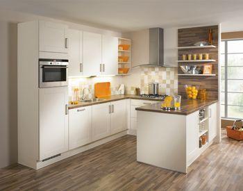 U vorm keuken keuken pinterest tuin - Idee outs semi open keuken ...