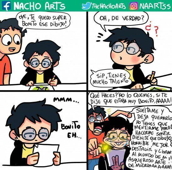 La Baja Autoestima En Los Dibujantes Comics Memes