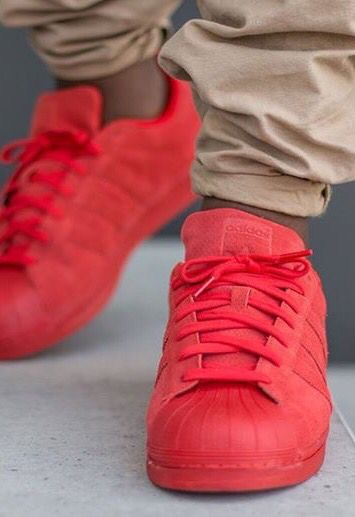 adidas superstar original red