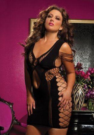 Plus Size Flirtatious Seamless Stretchy Dress