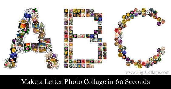 برنامج تجميع الصور في قوالب جاهزة Figrcollage 2 6 2 0 Professional Edition Shape Collage Collage Maker Photo Collage Maker