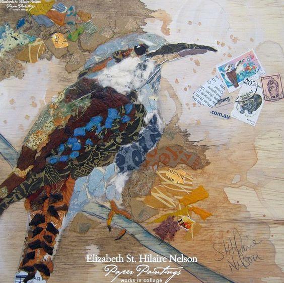 Elizabeth St Hilaire Nelson Collage Paper Mosaic