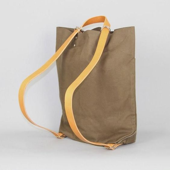 I think this Tembea School Bag is cleaver, you can use it either as a side bag or a backpack