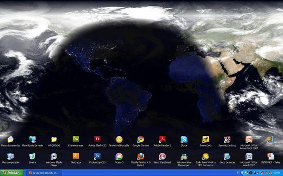 imagem area de trabalho | ... : Coloque imagens de satélite atualizadas na sua área de trabalho
