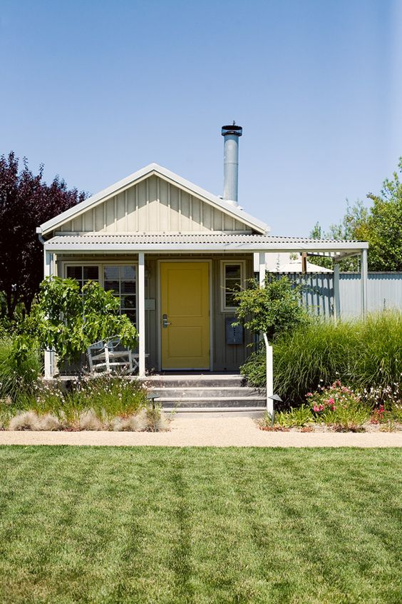 Instead of a room, you get a cute cottage at The Carneros Inn in Napa, CA. // room for my road trip courtesy of @Hotels.com // photo by Bonnie Tsang