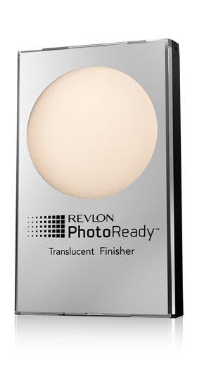 Revlon PhotoReady powder in Translucent. I don't do foundation and this really works - mattifies without showing. And it's cheap!