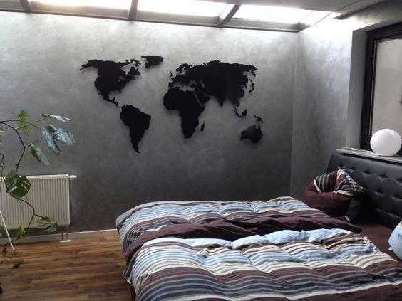 Wanddeko aus holz oder metall - Wanddeko beleuchtet ...
