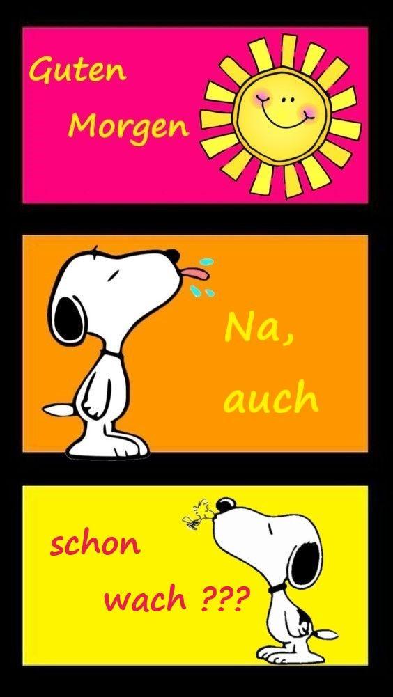 Sprüche guten snoopy morgen 37+ Snoopy