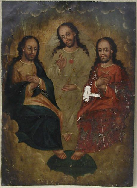 The Trinity Date: 18th century Culture: Spanish Colonial
