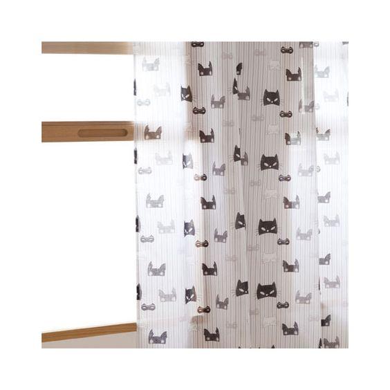 SUPERHERO CURTAIN Curtains Decoration Zara Home United States 130 BRL Liked On Polyvore