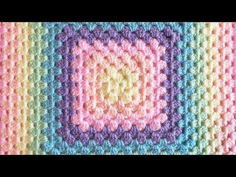 99 Crochet A Perfect Seamless Granny Square No Twisting Youtube Love This Chain 4 To Granny Square Crochet Pattern Crochet Crochet Stitches Video