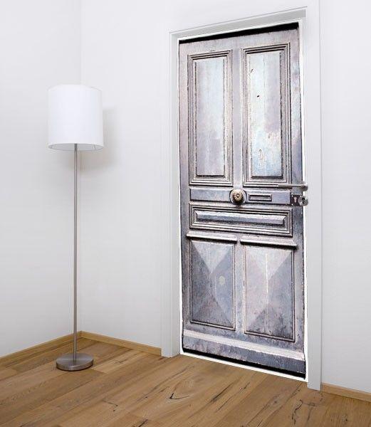 papier peint porte ancienne | cuisine | pinterest