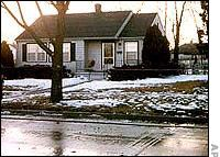 The Otero home where Joseph and Julie Otero and their children Joseph and Josephine were killed by the BTK Killer, Dennis Rader