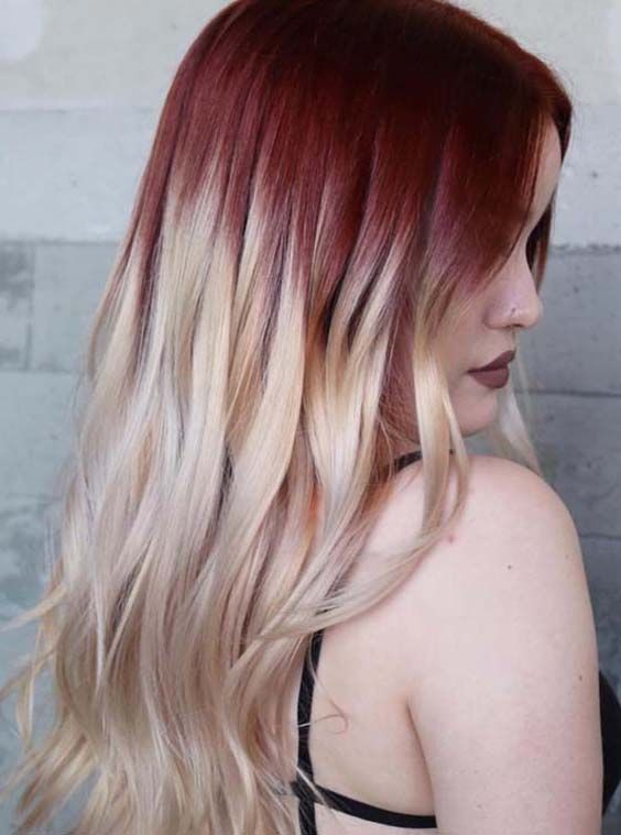 Amazing Combinations Of Strawberry Ash Blonde Hair Colors In 2018