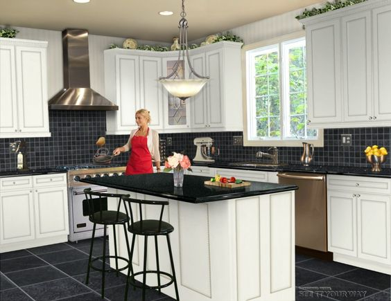 Kitchen. Kitchen Design Ideas and Layout: Kitchen Floor Mats Designer ~ HY Decor