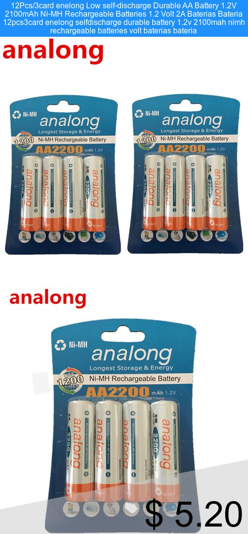 Only 5 20 12pcs 3card Enelong Low Self Discharge Durable Aa Battery 1 2v 2100mah Ni Mh Rechargeable Batteries 1 2 Volt 2 Rechargeable Batteries Nimh Durable