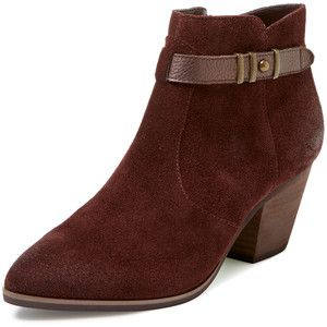 Seychelles Women's Take Notice Suede Bootie - Brown - Size 9