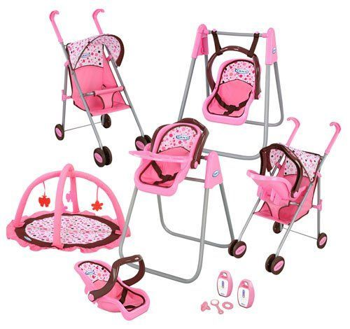 11+ Baby alive stroller set info
