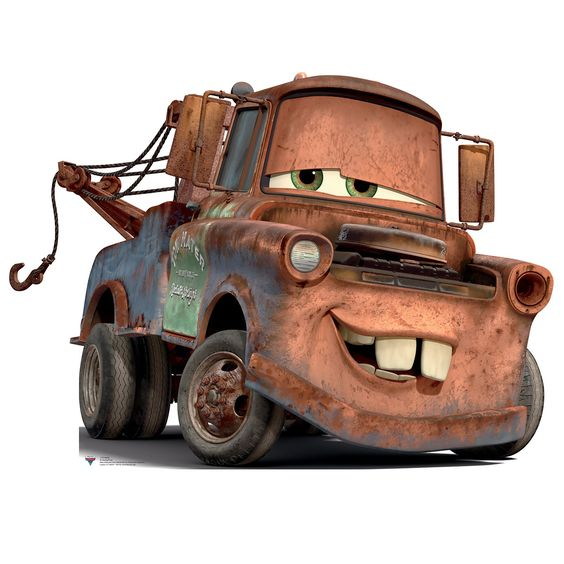 Day Nine. Favorite Original Character. Tow Mater! How can you not love this redneck?