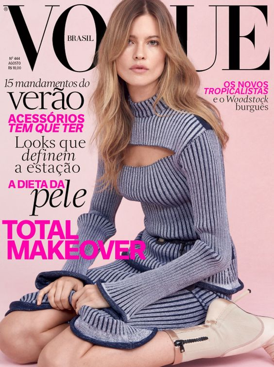 #BehatiPrinsloo by #ZeeNunes for the cover of #VogueBrazil August 2015