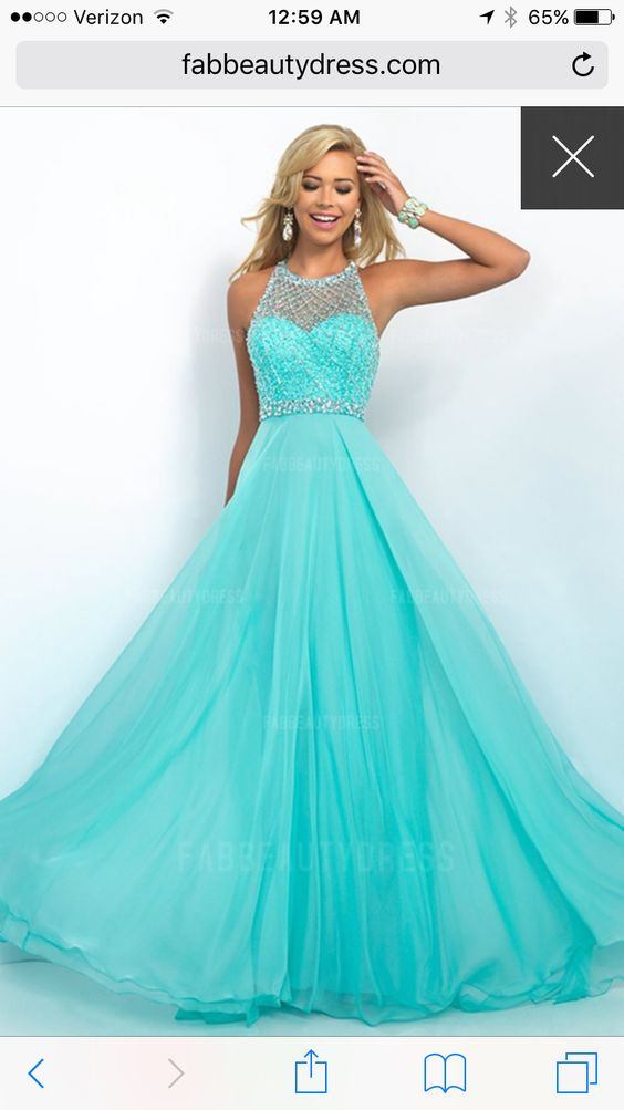 Prom Dress, love that color