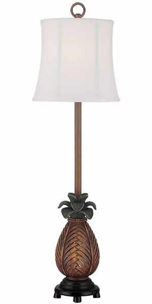 Seahaven Mai Al249 Nl Pineapple Console Lamp Pineapple Table