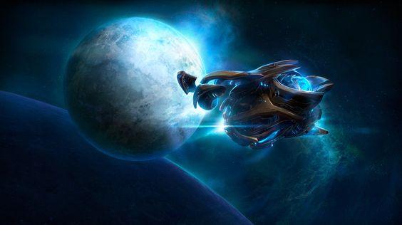StarCraft II wallpapers: StarShip