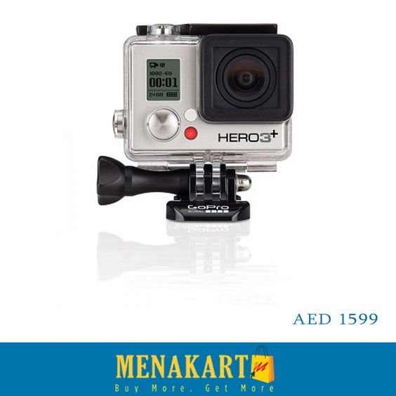 World's most Versatile Camera | GoPro. http://Menakart.com  Shop Now #gopro #cameras #onlineshopping #shop #uae