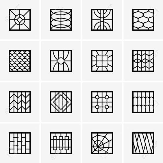 Modern window grills design google search self help for Fancy window design