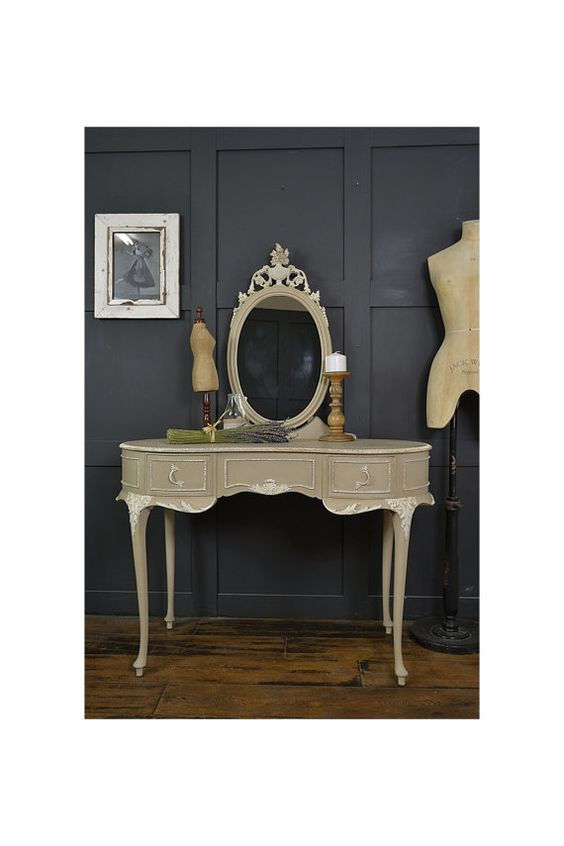French Shabby Chic Dressing Table in Annie by TheTreasureTroveUK