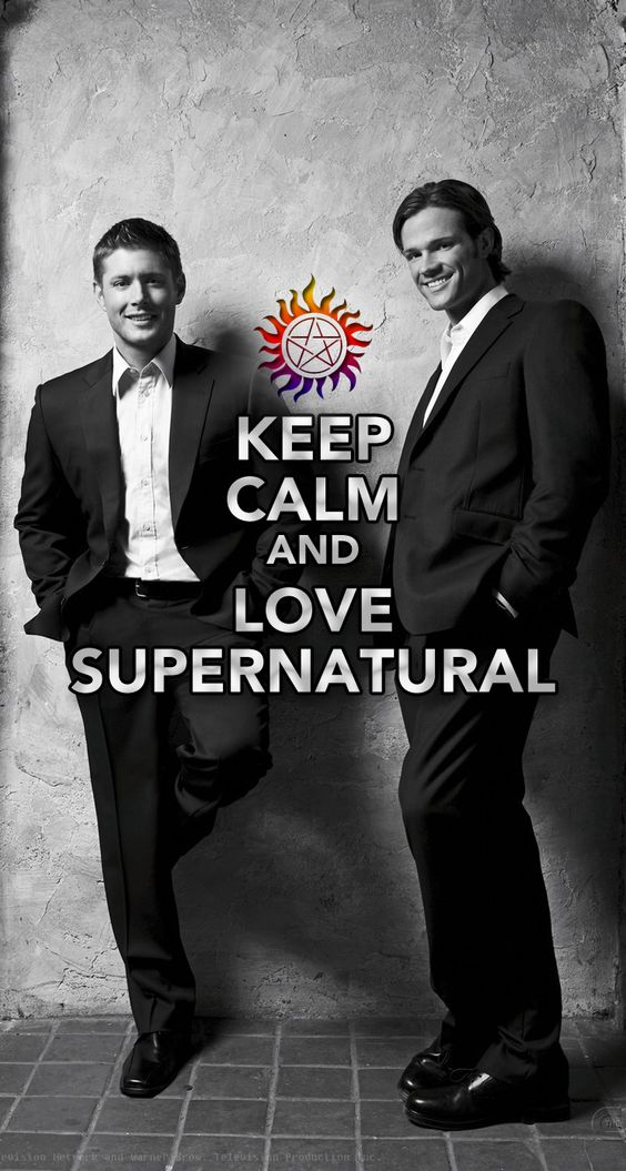 Keep calm and love supernatural iphone 5 wallpaper - Supernatural phone background ...