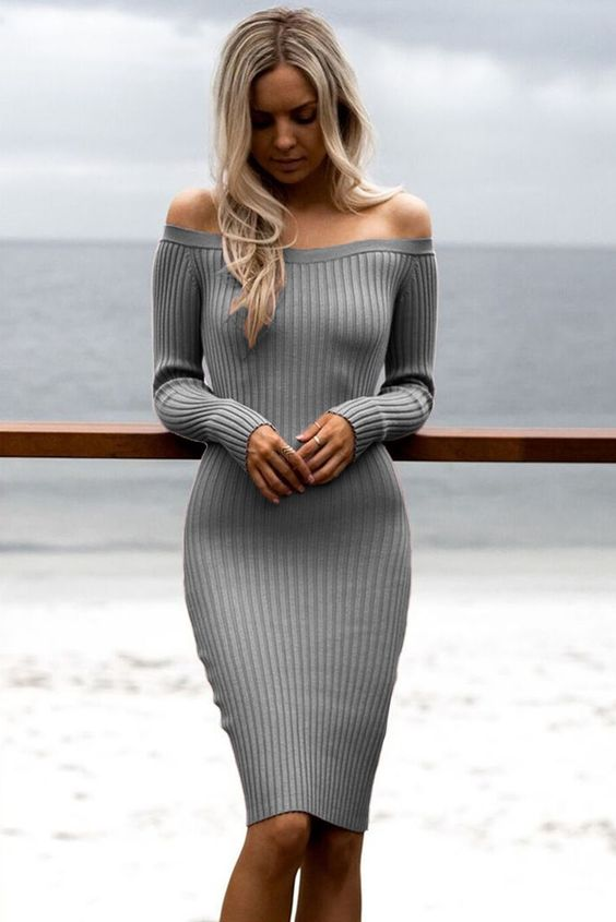 59 Sweater Dresses That Will Inspire You outfit fashion casualoutfit fashiontrends
