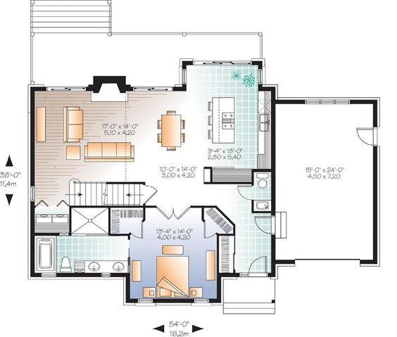 Style House Plans Country Style Houses And Monster House On Pinterest