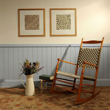Cable painted walls and tongue and groove on pinterest - Tongue and groove interior walls ...